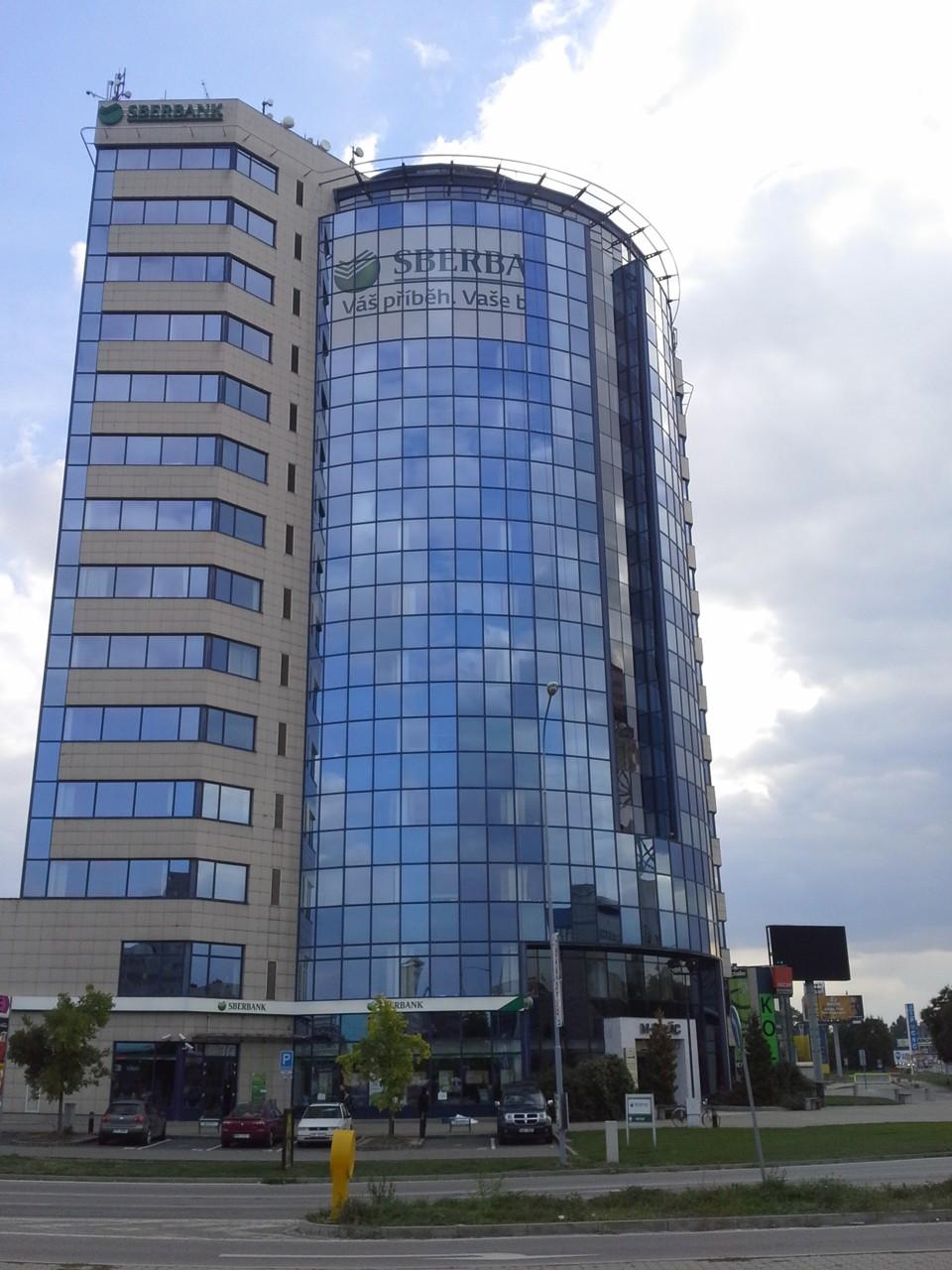 Reklamní polep – Sberbank