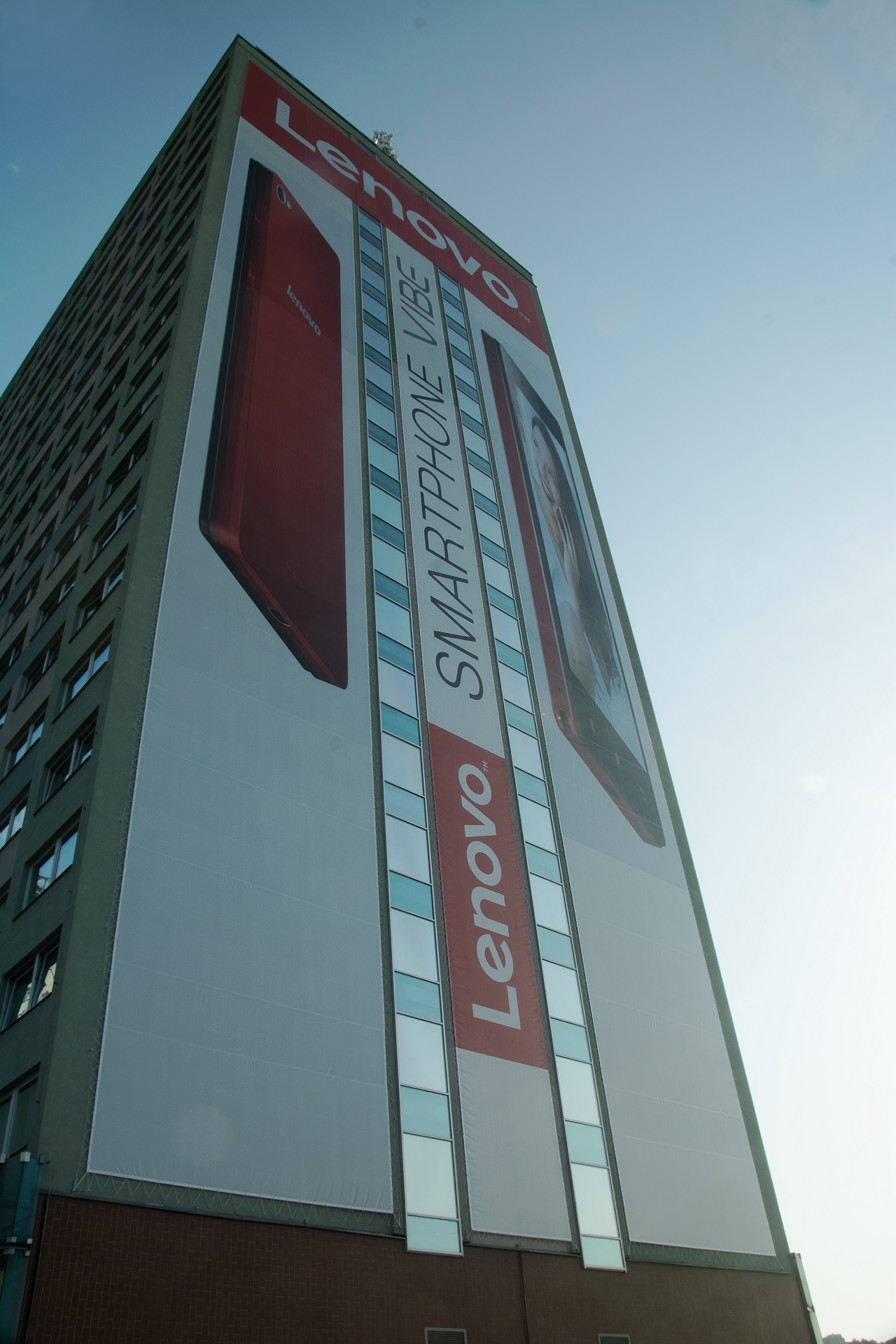 Instalace banneru – Lenovo