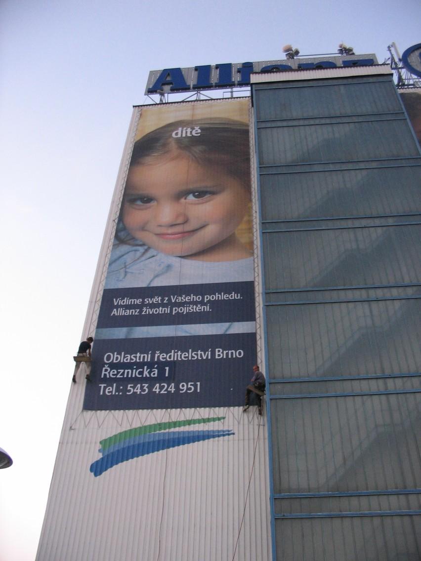 Allainz Brno - reklamní banner