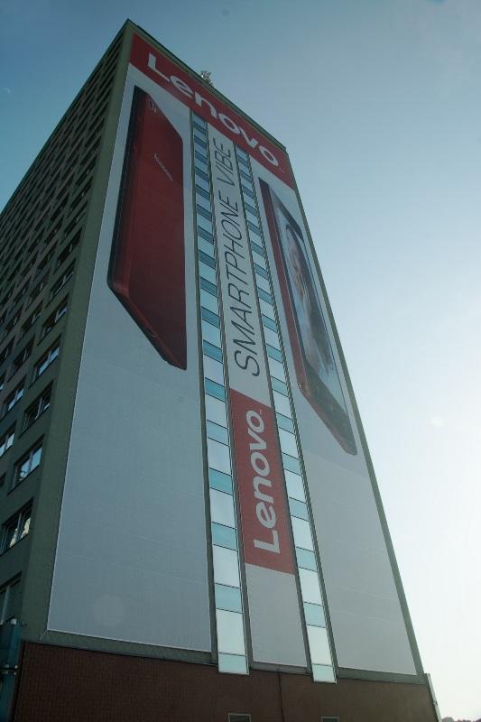 Montáž reklamy - Lenovo