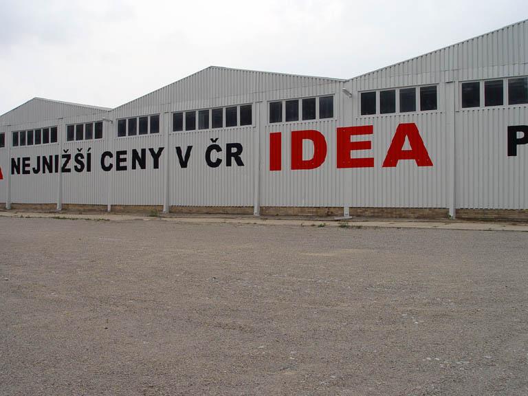 IDEA Brno - nátěr haly