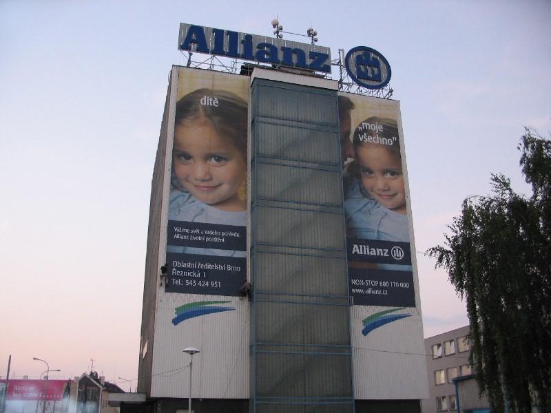 Allianz – reklamní banner